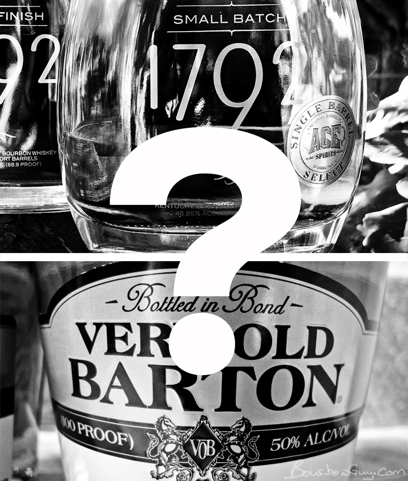 Very Old Barton and 1792: What's the difference, really?