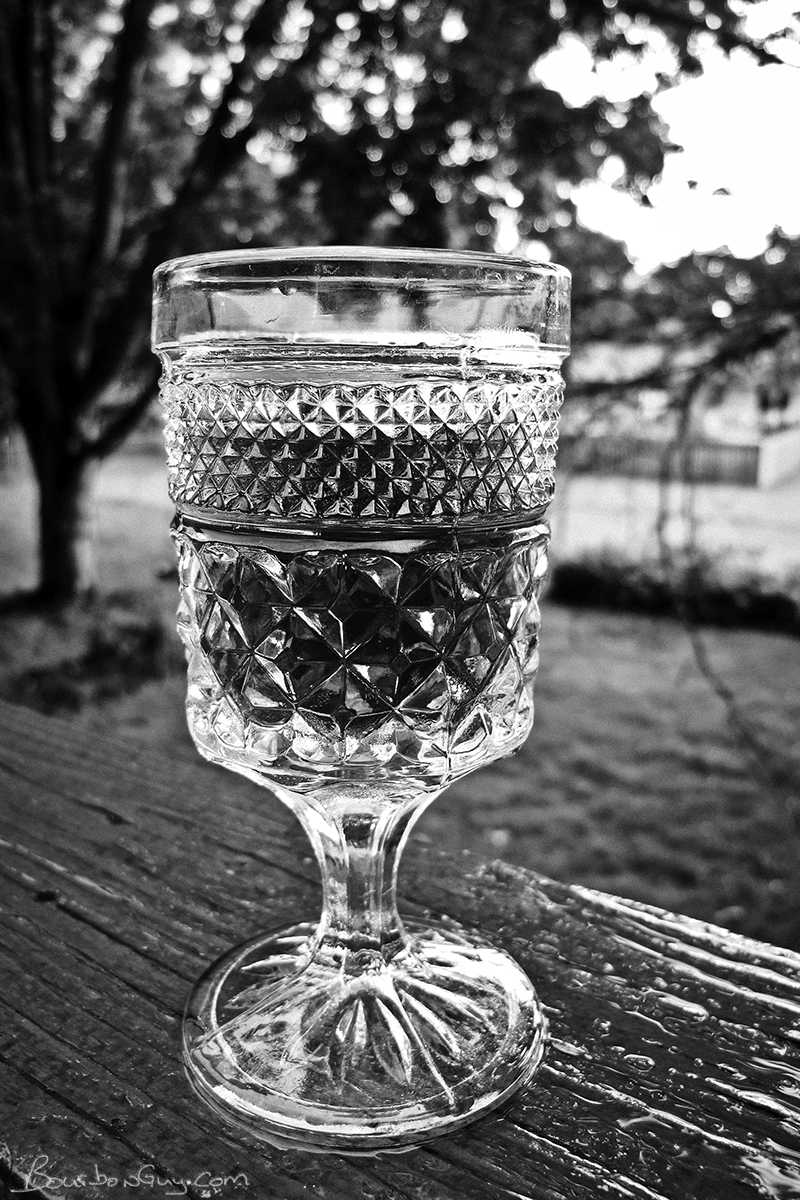 My vatted whiskey in one of my favorite antique glasses