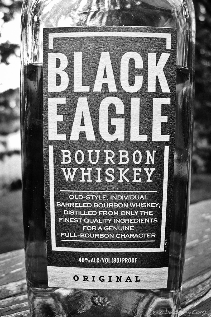 Individually Barreled Black Eagle Bourbon