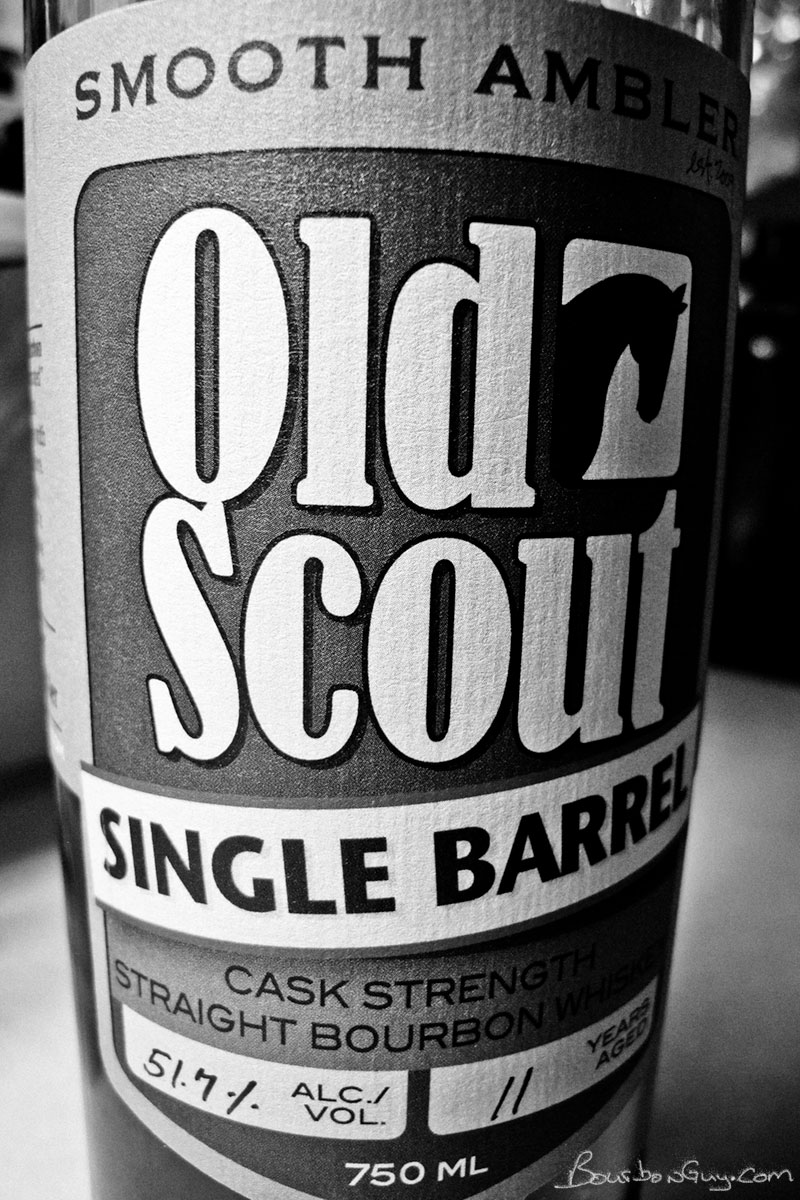 Smooth Ambler Old Scout Single Barrel Bourbon