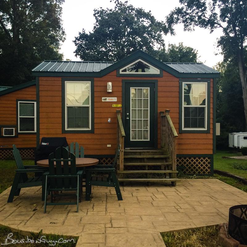 KOA cabin in Shepardsville, KY.