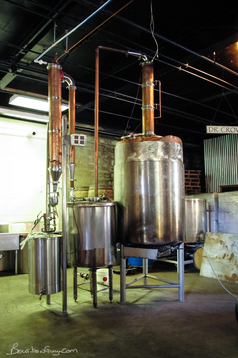 "The ""big"" whiskey still: Dr. Crow"
