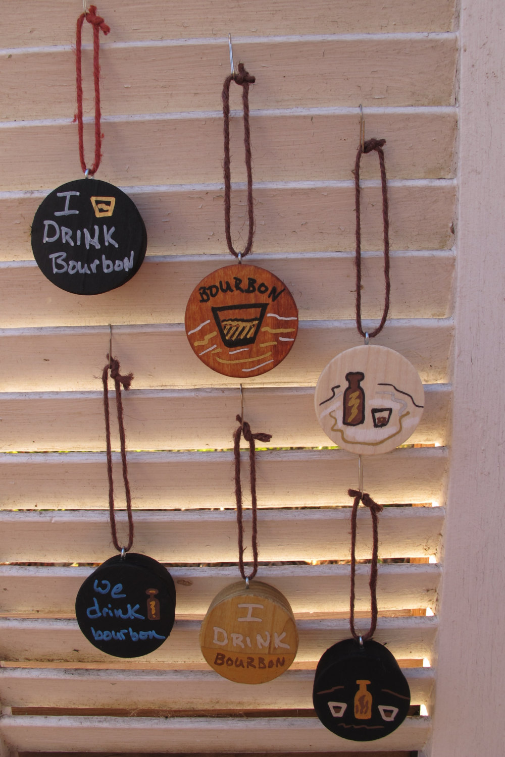 Barrel Bung Ornaments