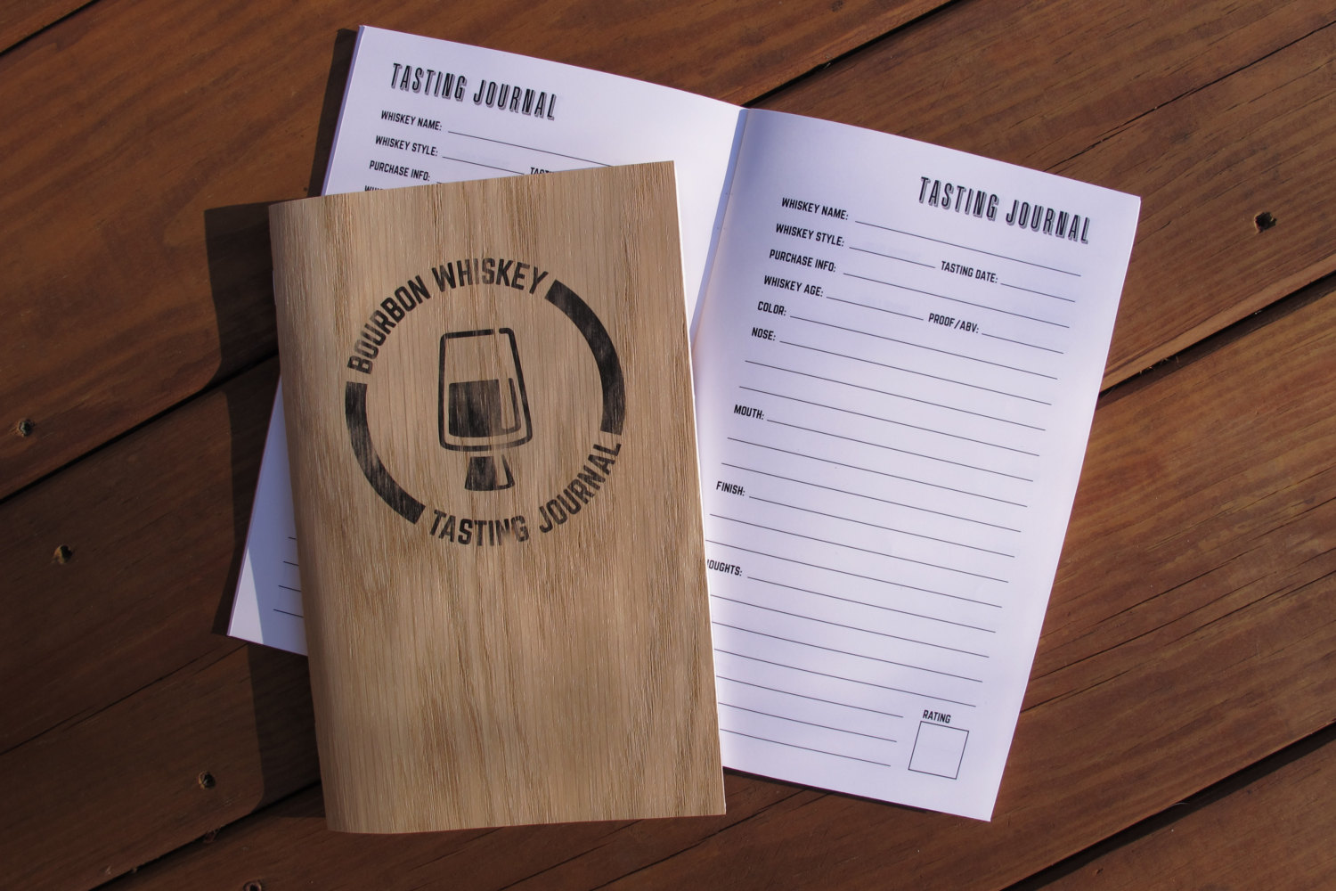 Bourbon Tasting Journal