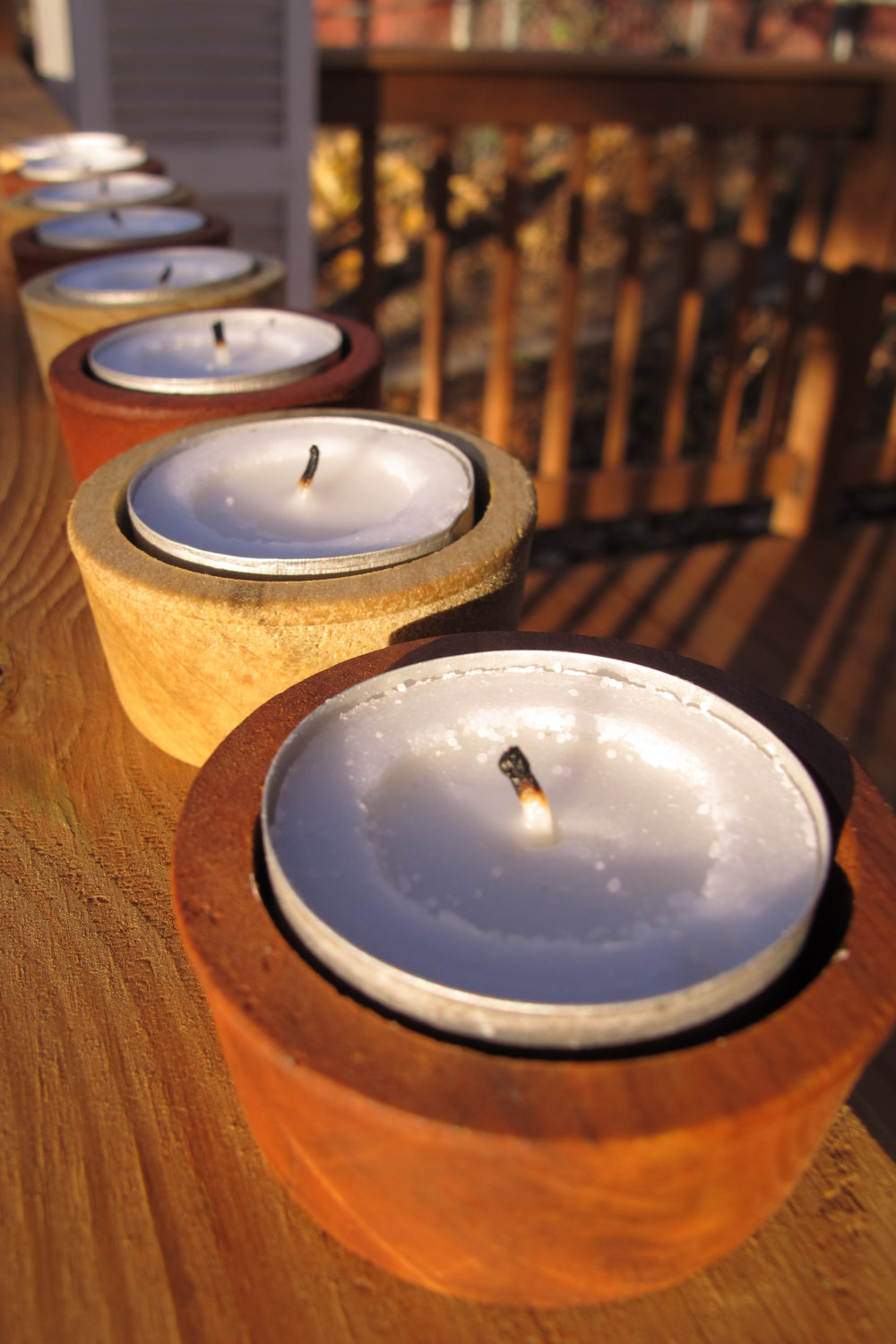 Barrel Bung Candle Holders