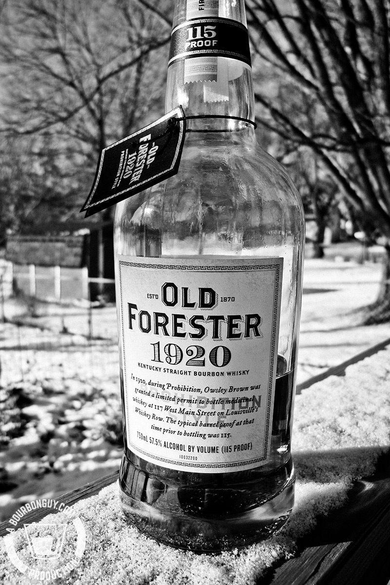 Old Forester 1920 - Prohibition Style