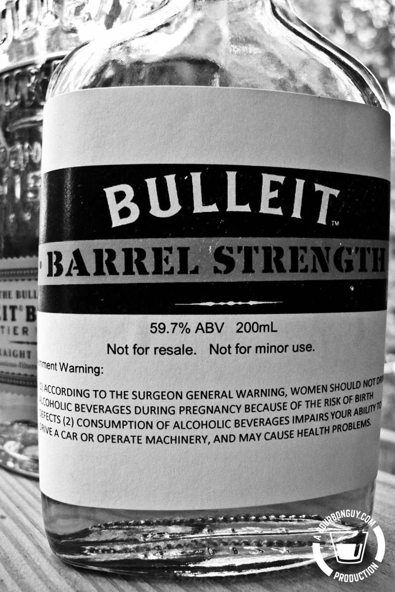 Bulleit Barrel Strength 2017 edition