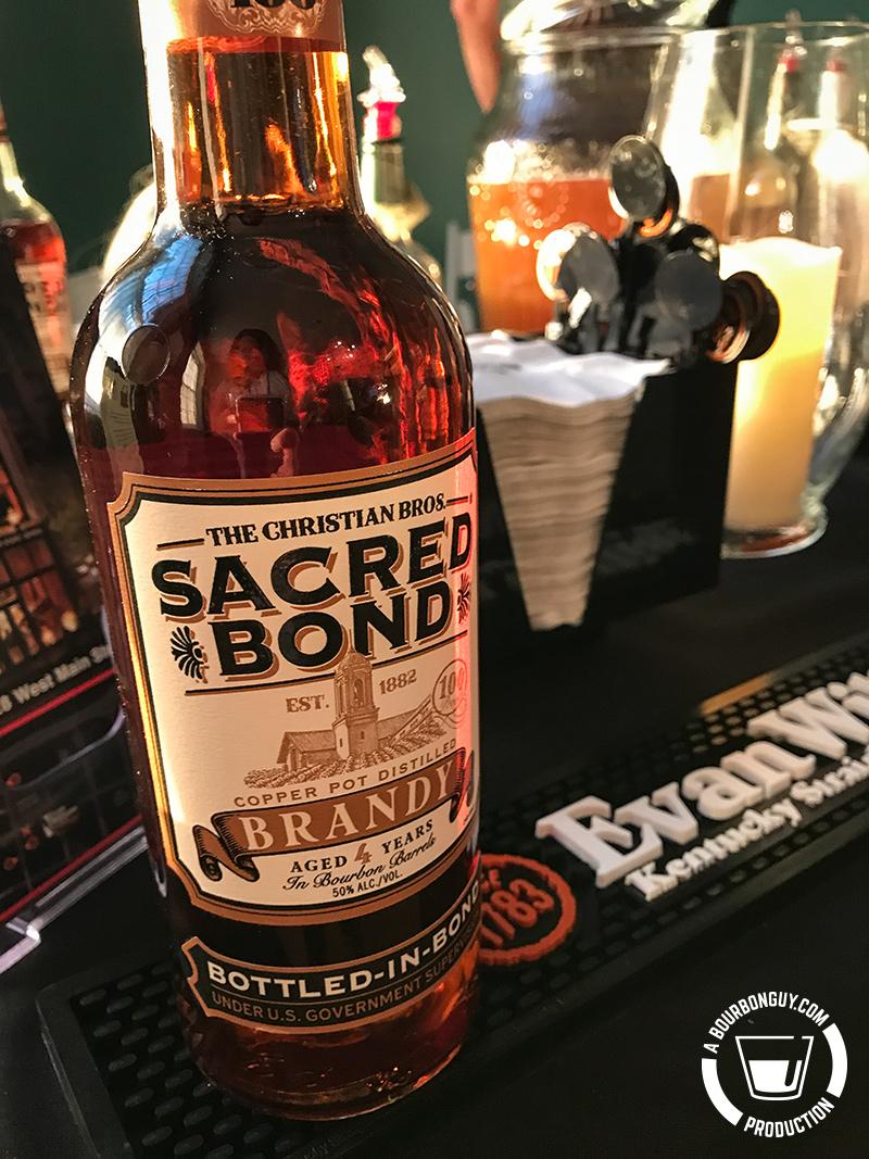 Sacred Bond Brandy, Bottled in Bond