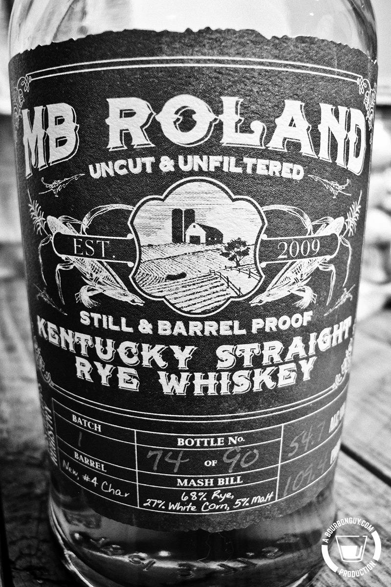 MB Roland Rye Whiskey