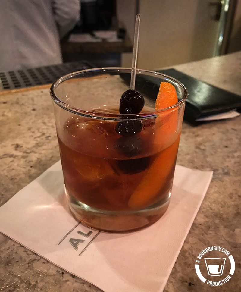 the Island Old Fashioned