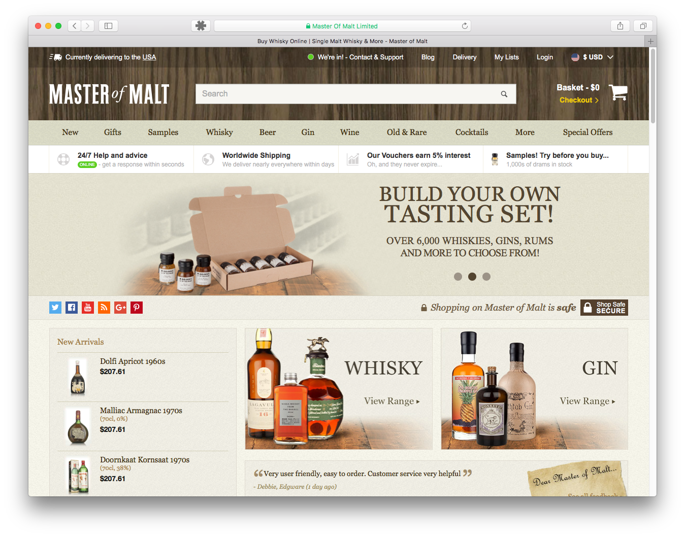 MAster of Malt Home Page