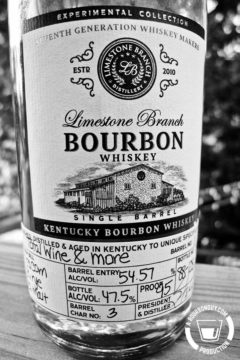 IMAGE:Limestone Branch Experimental Collection Bourbon