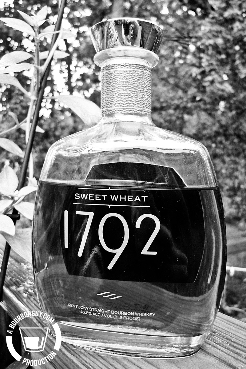 IMAGE: a bottle of 1792 Sweet Wheat