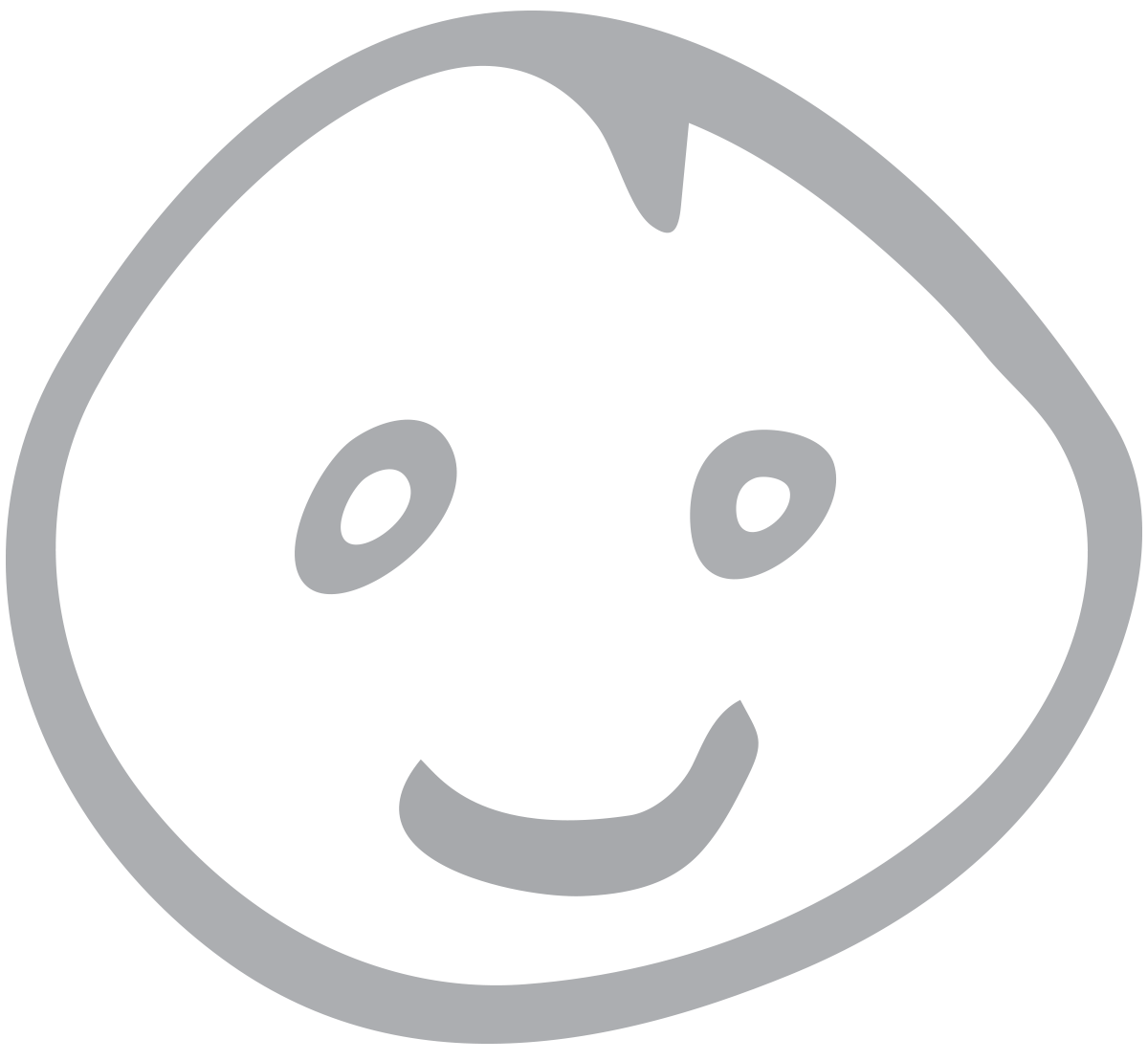 IMAGE: a hand drawn smiley face