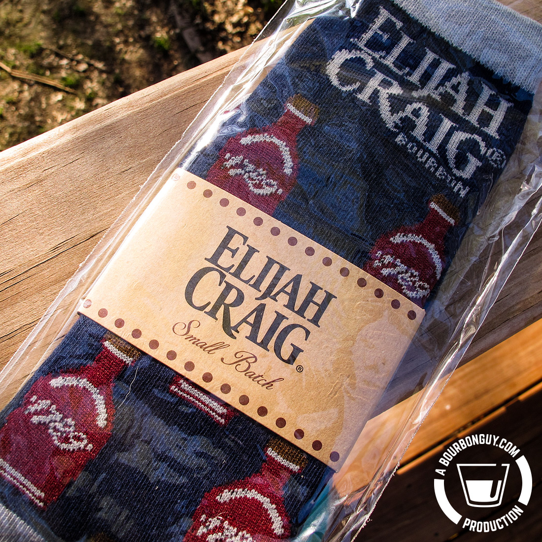 IMAGE: Elijah Craig Small Batch Socks. Enter to win this pair below.