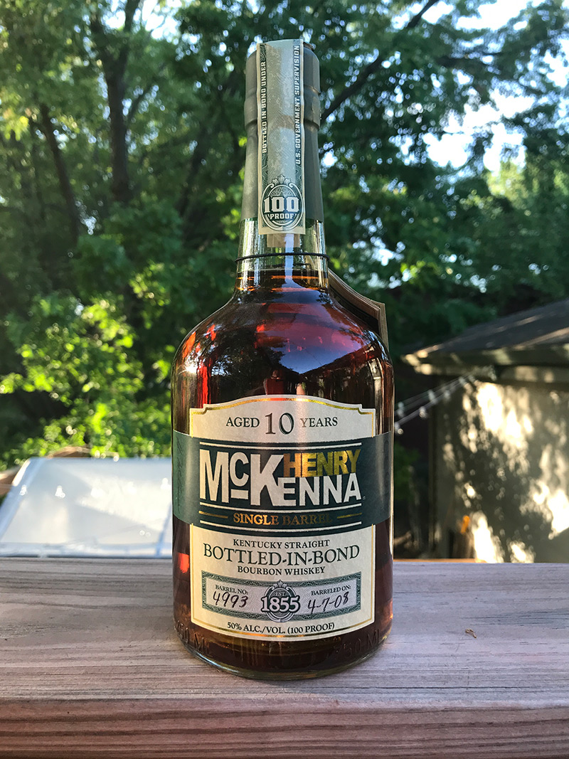 IMAGE: Henry McKenna Bottled in Bond, Single Barrel, 10 years old