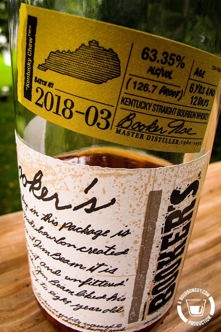 IMAGE: Booker's Bourbon Batch number 2018-03