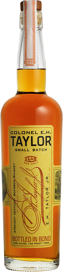 IMAGE: Promo shot of Colonel EH Taylor Small Batch