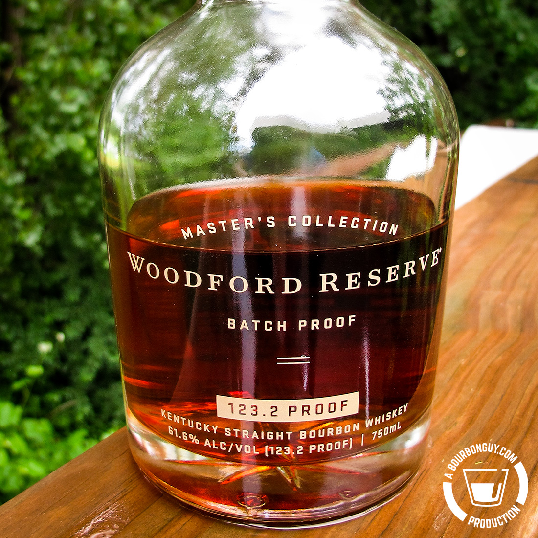 IMAGE: the 2019 edition of Woodford Reserve Batch Proof. 123.2 Proof
