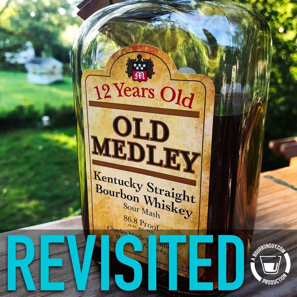 IMAGE: Old Medley Bourbon. 12 years old and still not great.