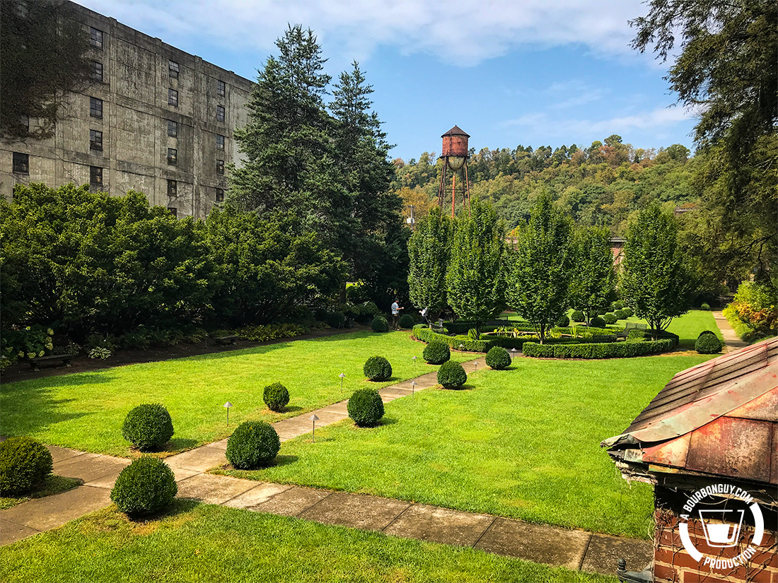 "IMAGE: The ""Formal Gardens"" a recreation of the gardens of Col. E. H. Taylor once had in the same spot."