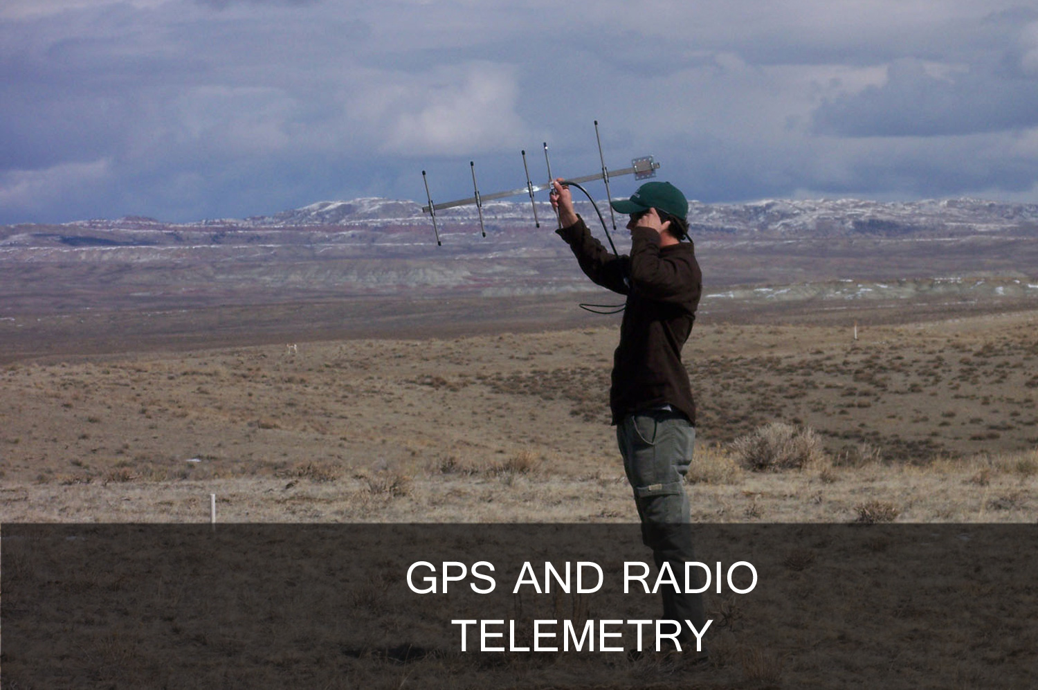 GPS and radio telemetry