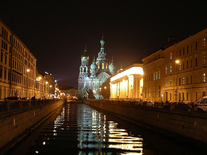 The Church of the Spilled Blood - St. Petersburg
