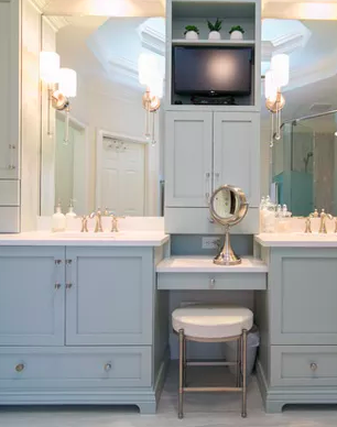 A Serene, Spa-like Master Bathroom -
