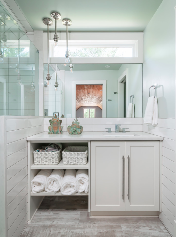 Brightened Guest Bathroom -
