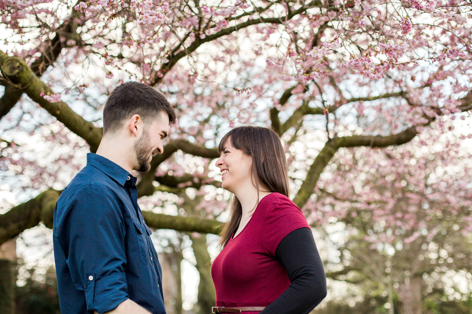 Sophie Evans Photography, Alice & Nathanael Botanical Gardens Engagement Shoot. Warwickshire Wedding Photographer (1).jpg