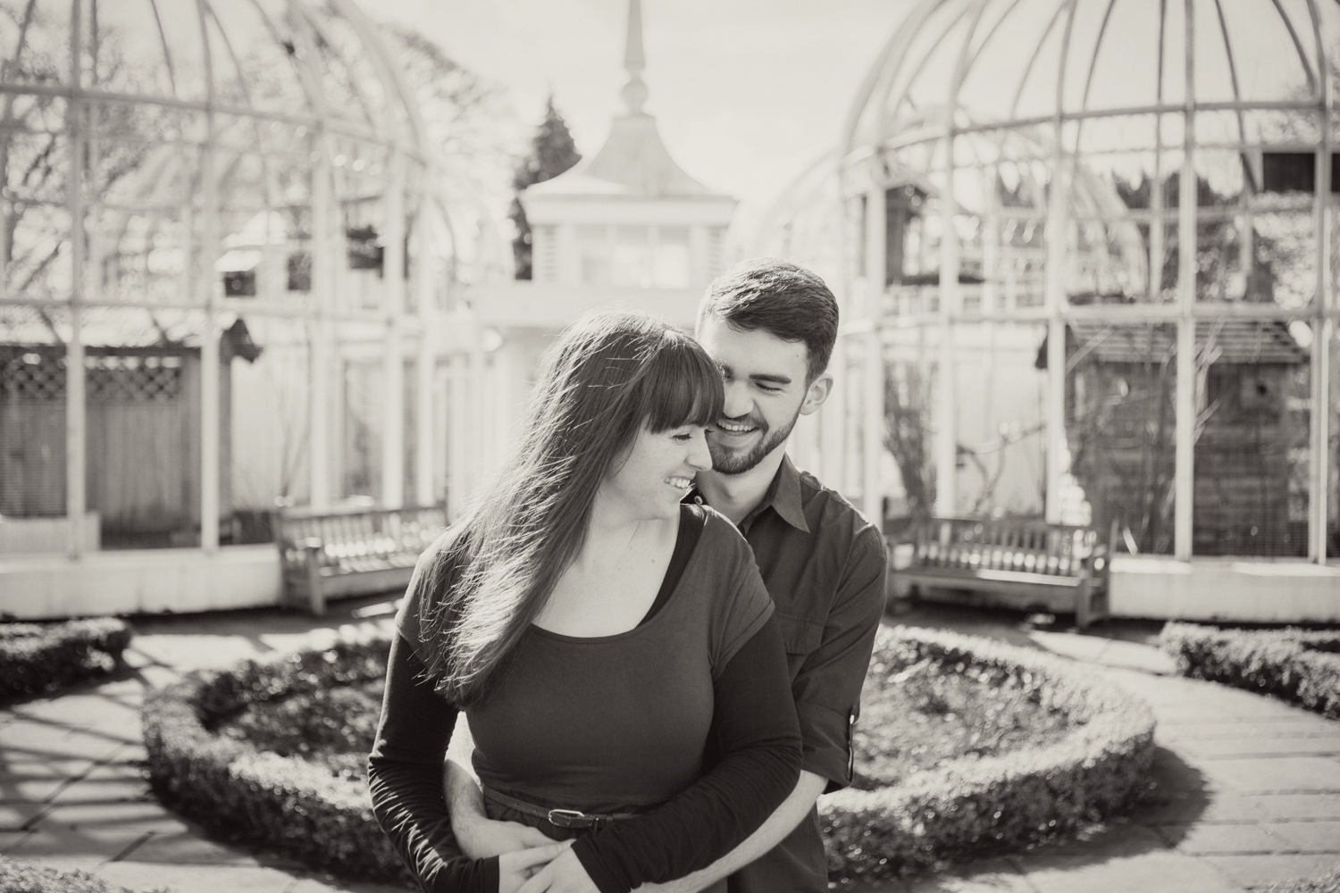 Sophie Evans Photography, Alice & Nathanael Botanical Gardens Engagement Shoot. Warwickshire Wedding Photographer (9).jpg