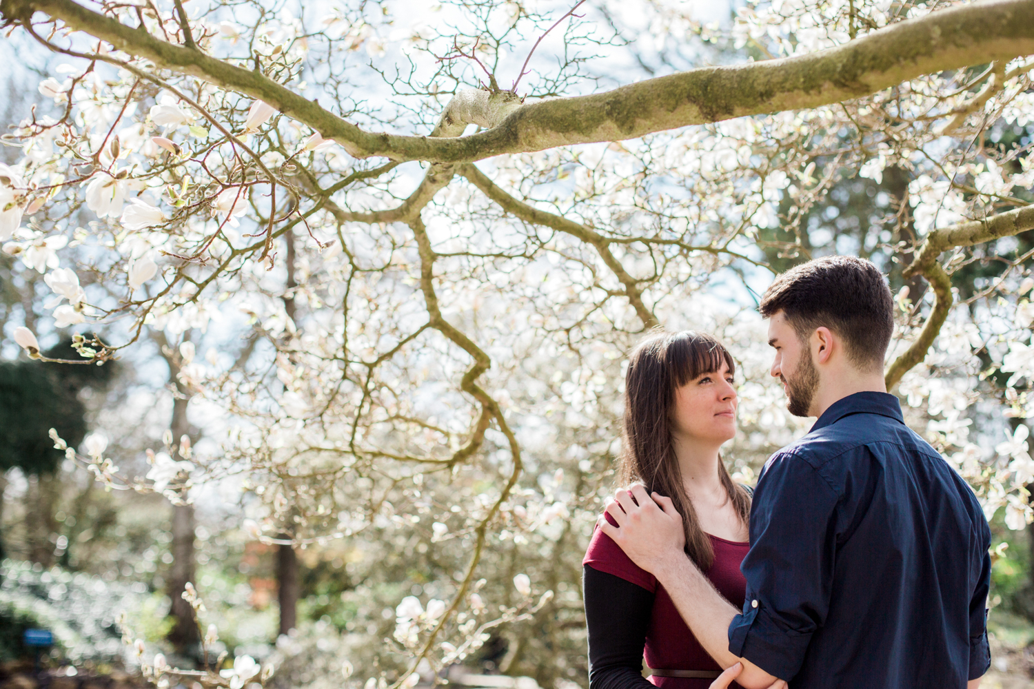 Sophie Evans Photography, Alice & Nathanael Botanical Gardens Engagement Shoot. Warwickshire Wedding Photographer (18).jpg