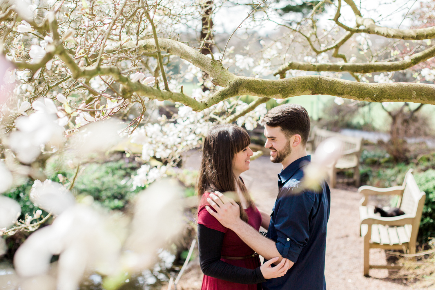 Sophie Evans Photography, Alice & Nathanael Botanical Gardens Engagement Shoot. Warwickshire Wedding Photographer (19).jpg