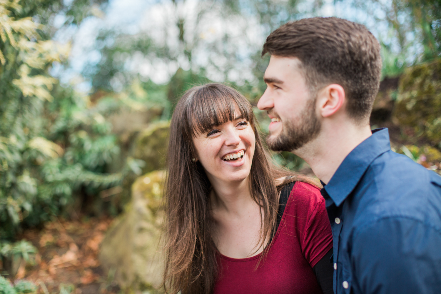 Sophie Evans Photography, Alice & Nathanael Botanical Gardens Engagement Shoot. Warwickshire Wedding Photographer (29).jpg