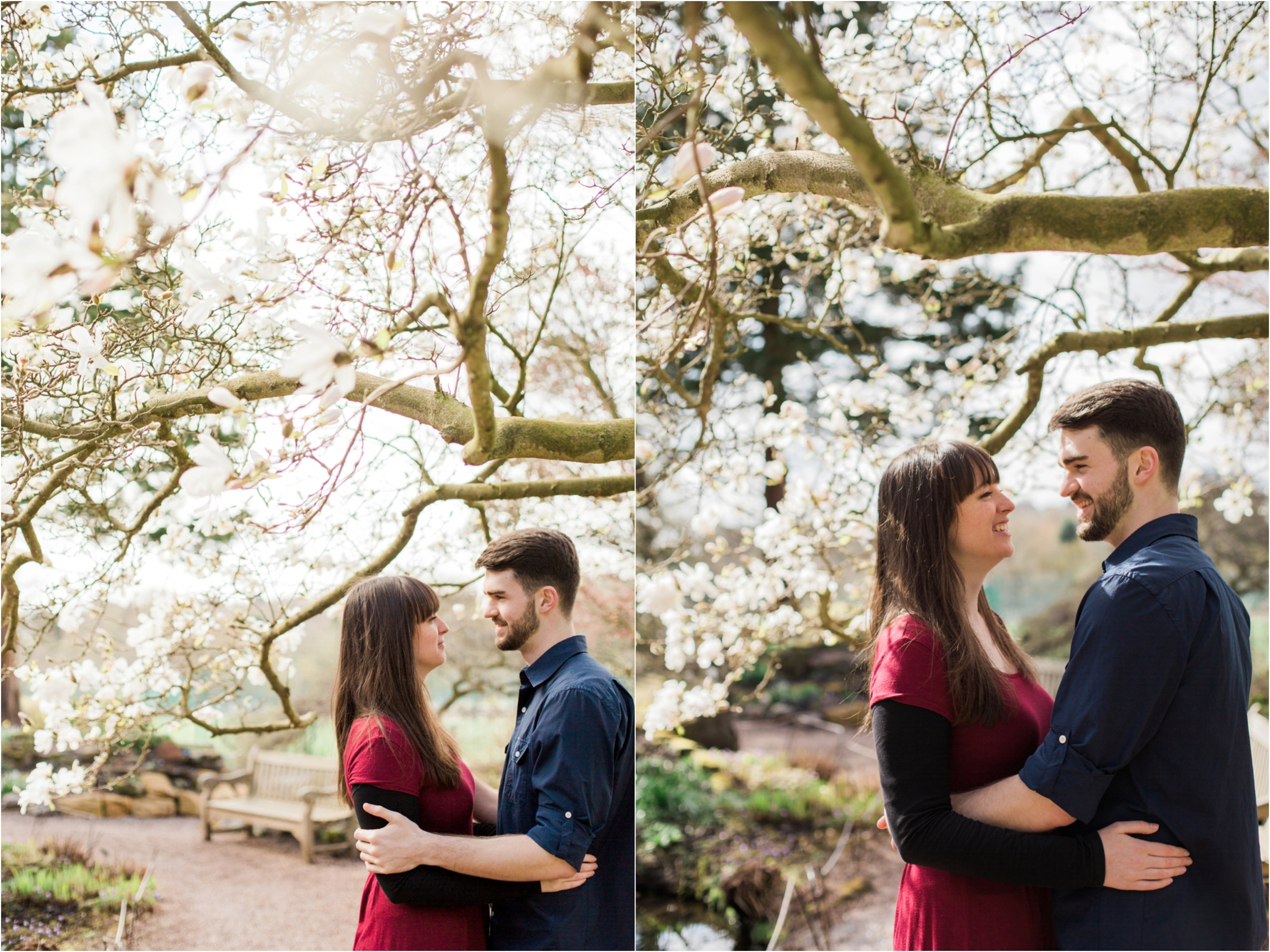Sophie Evans Photography, Alice & Nathanael Botanical Gardens Engagement Shoot. Warwickshire Wedding Photographer (17).jpg