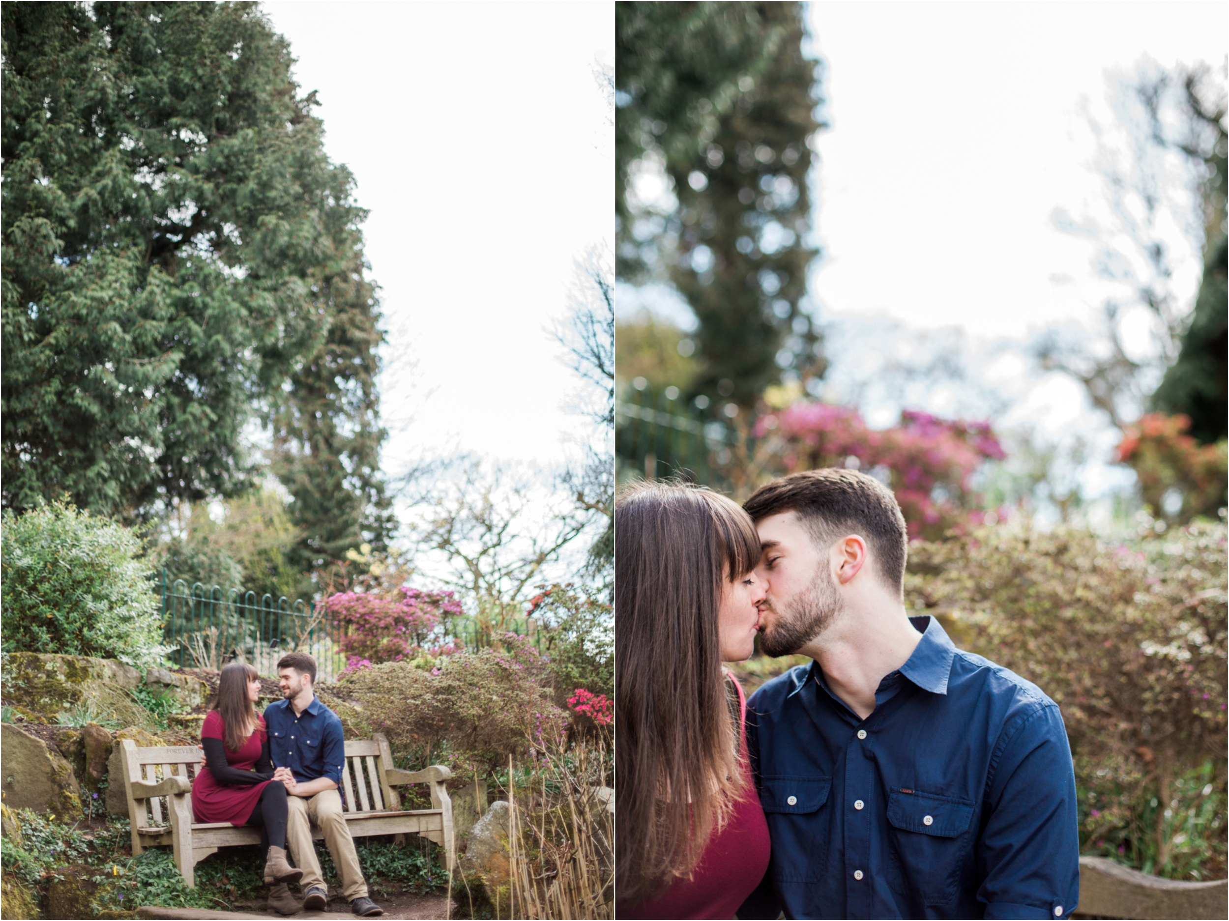 Sophie Evans Photography, Alice & Nathanael Botanical Gardens Engagement Shoot. Warwickshire Wedding Photographer (28).jpg