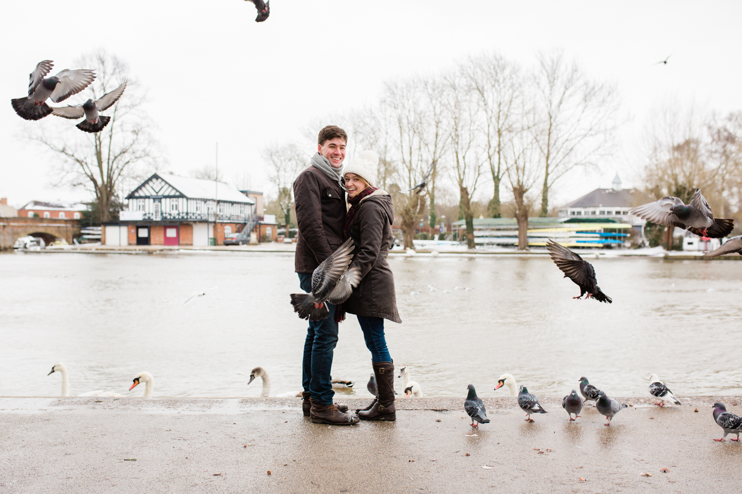 Alice & James - Stratford Upon Avon Engagement shoot - Sophie Evans Photography-26.jpg