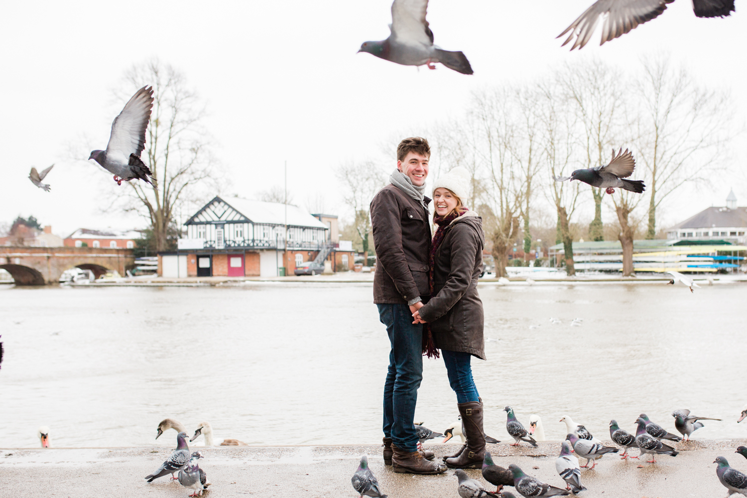 Alice & James - Stratford Upon Avon Engagement shoot - Sophie Evans Photography-27.jpg