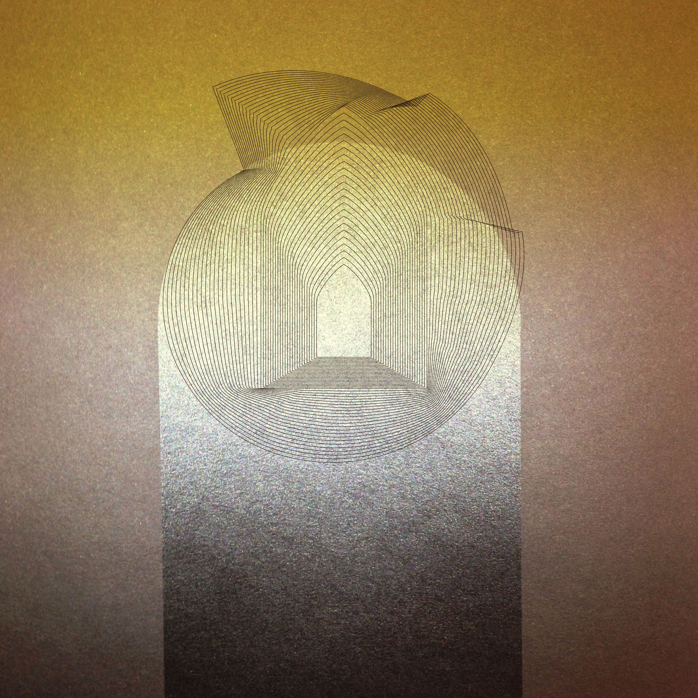 "Birth / Death  • 36"" x 36"" Giclee Print • Version XI"