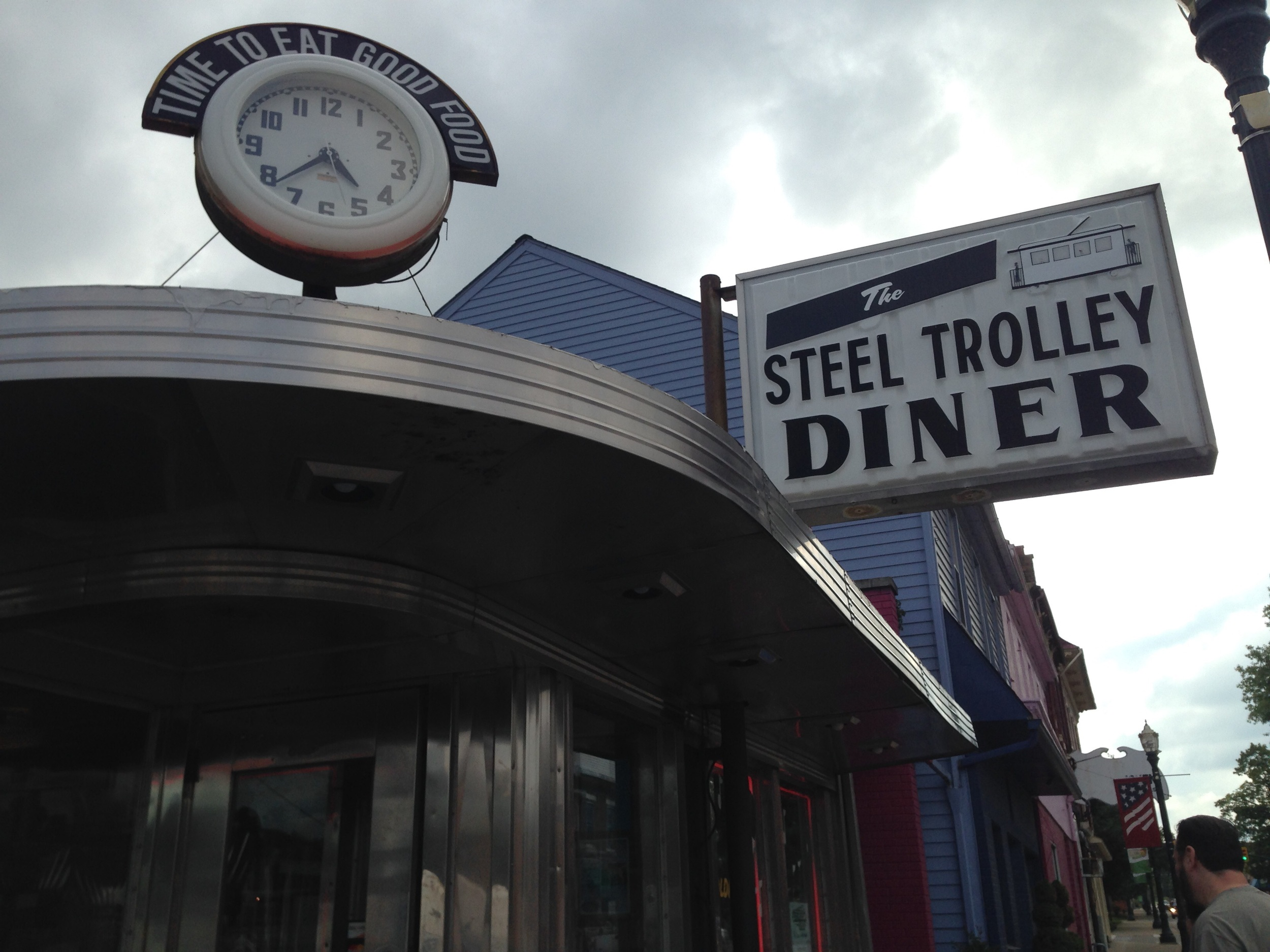 The Steel Trolley Diner in Lisbon OH