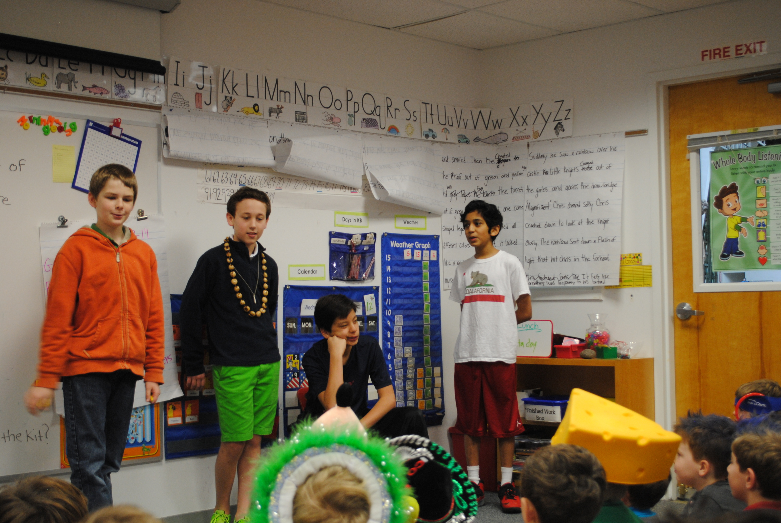 2nd grade lessons on lending and life.