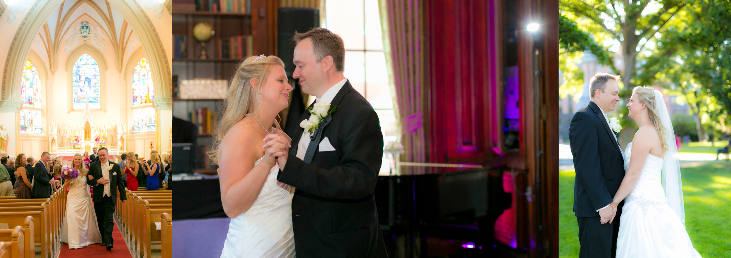 Alison & Jeff - August 2014 at the Hampshire House