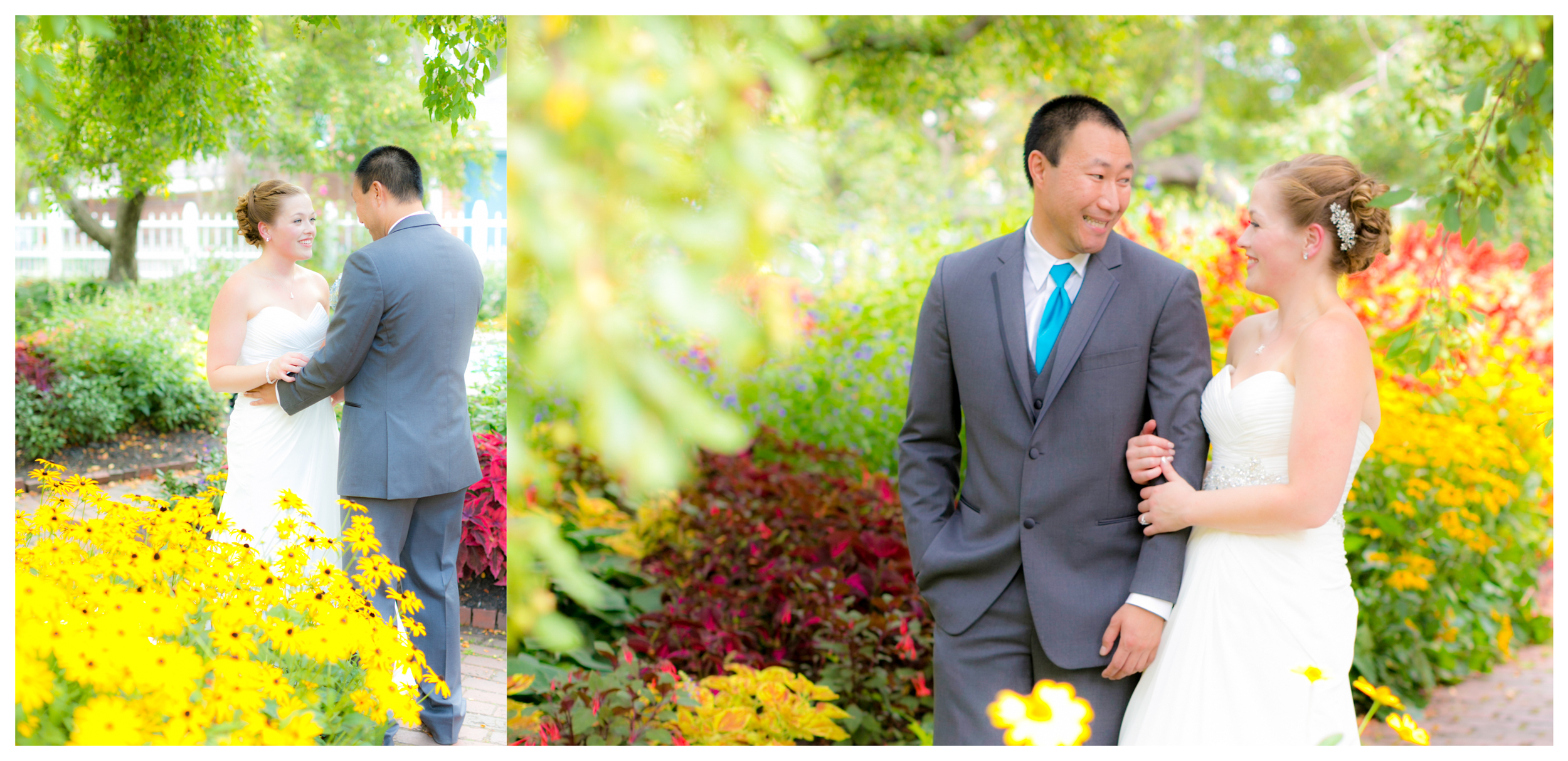 Meredith & Eric - August 2014 at Prescott Park, NH