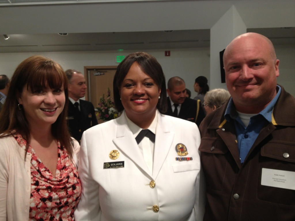 Jill and Robb with the former Surgeon General