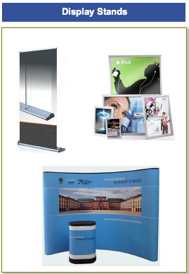 Wide Selection of Display Stands Available