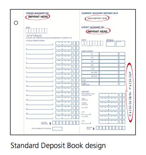 Deposit books
