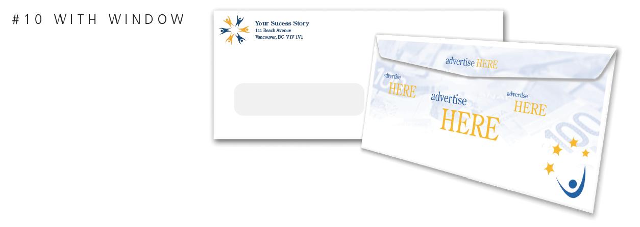 Custom print envelopes