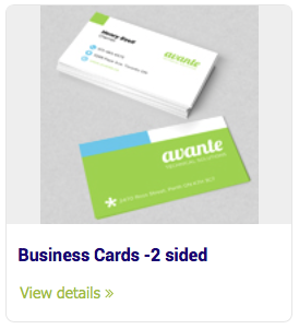 Business cards 2 sided