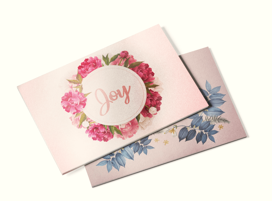 Pearl Postcards - Adding elegance to your artwork just got simpler with our special pearl paper stock. These postcards shimmer under lighting, making the custom printed design shimmer too!