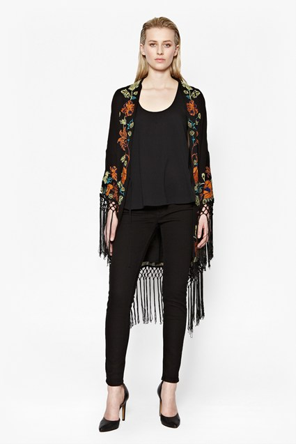 French Connection Seychelles Kimono ($299)